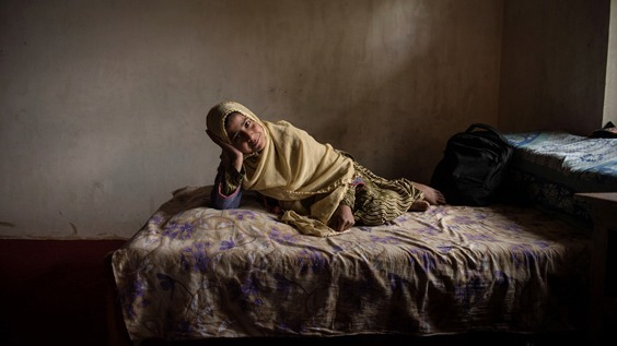 Photo by Ami Vitale for War/Photography exhibit