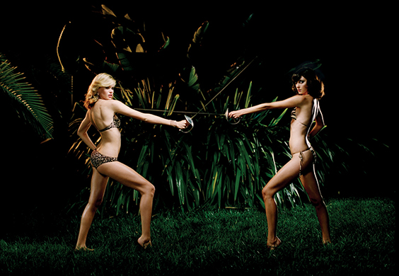 Photo by Andrew Southam for Helmut Newton exhibit