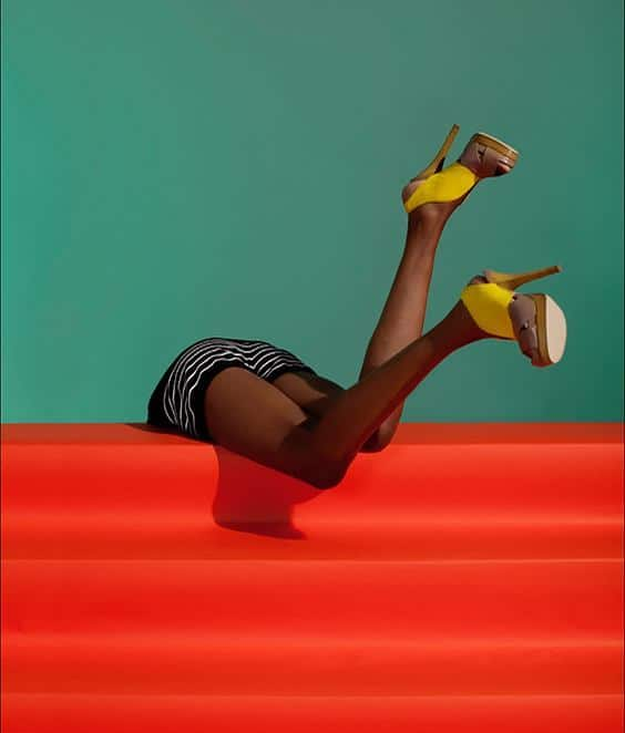 Photo by JUCO  for Helmut Newton exhibit