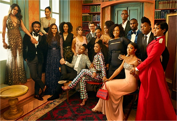 Movers & Shakers of Color, Hollywood 2018