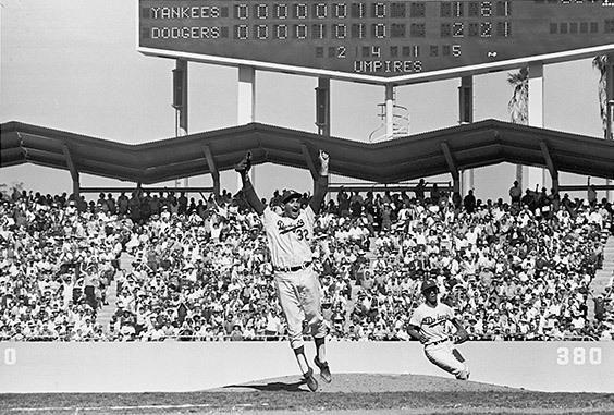 Dodger Stadium, Los Angeles, CA, October 6, 1963