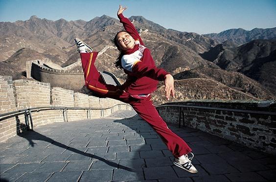 Great Wall, China, December 1983