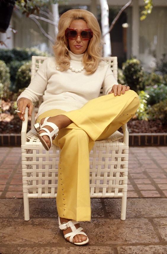Tammy Wynette at home in Nashville, c. 1974