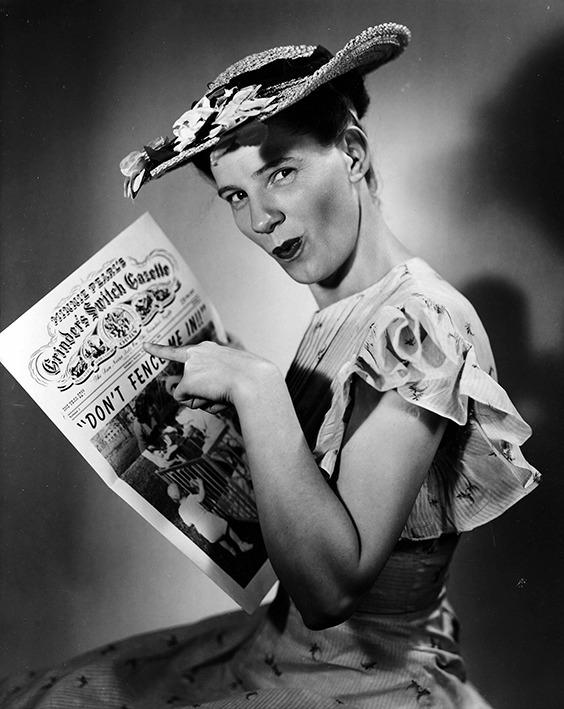 Minnie Pearl, Nashville, 1949