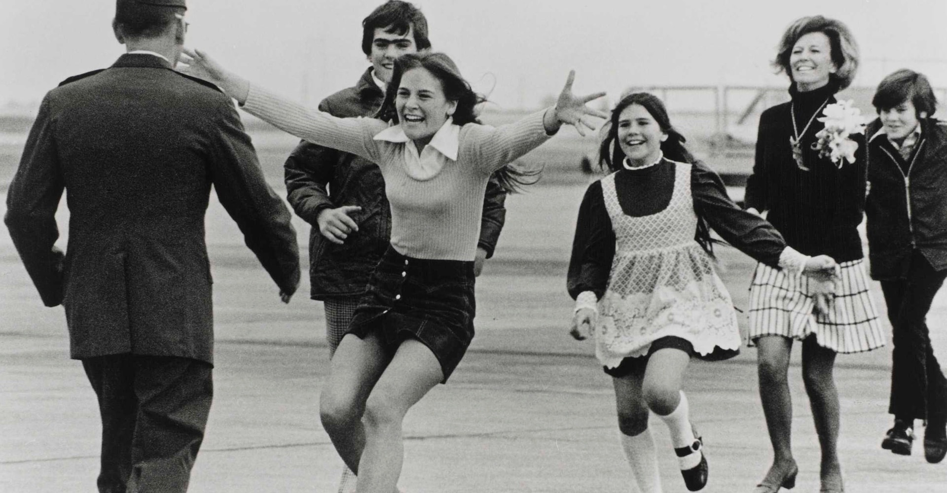 Burst of Joy, Travis Air Force Base - California, March 1973
