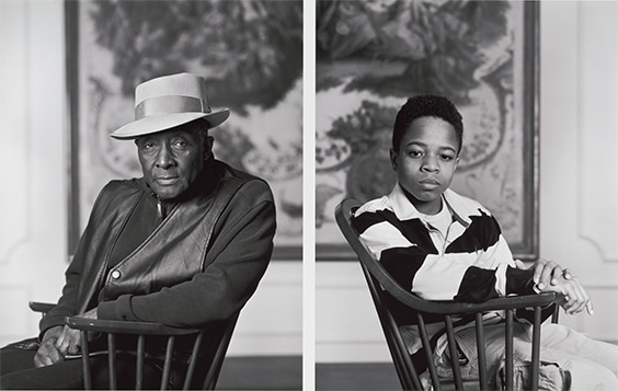 Fred Stewart II and Tyler Collins, Birmingham Museum of Art from the series Birmingham: Four Girls, Two Boys, 2012.
