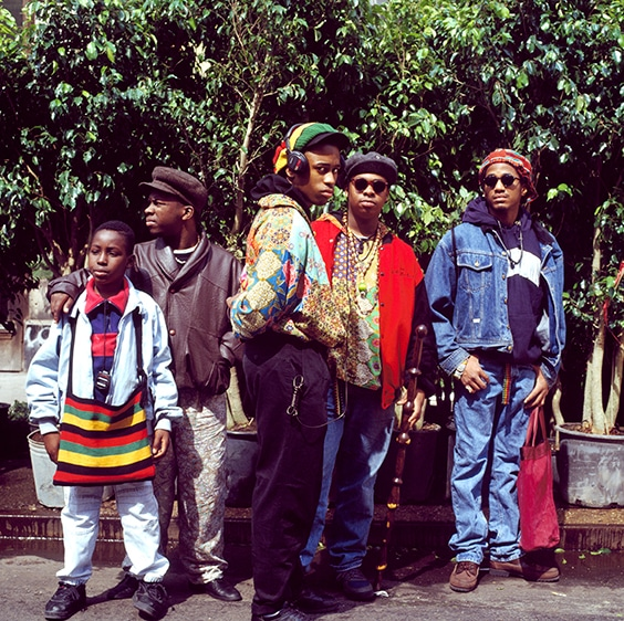A Tribe Called Quest,  Chelsea, New York, 1990