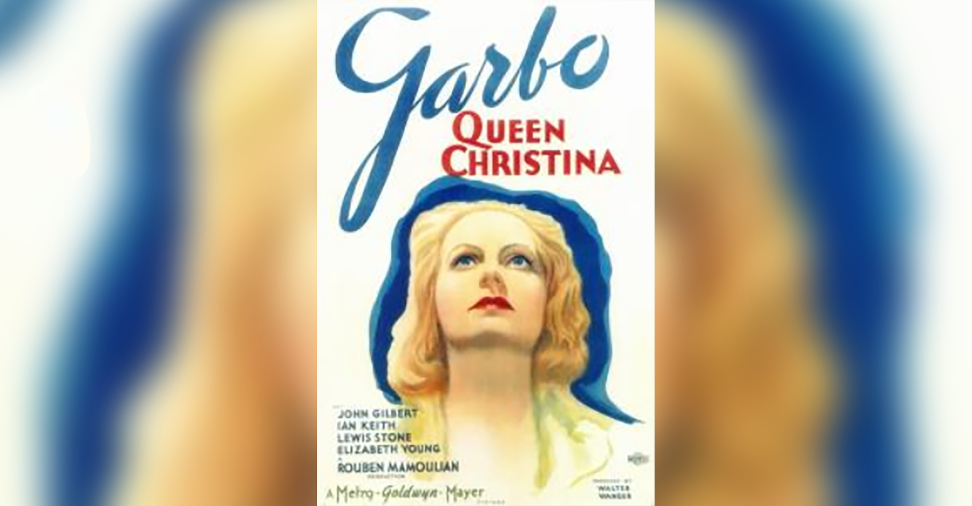 Film Screening: Queen Christina