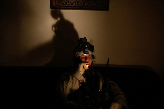 Photo by Andrea Bruce for War/Photography exhibit