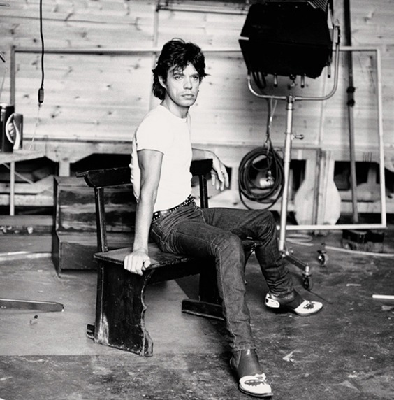 Photo by Andy Earl for Who Shot Rock & Roll exhibit