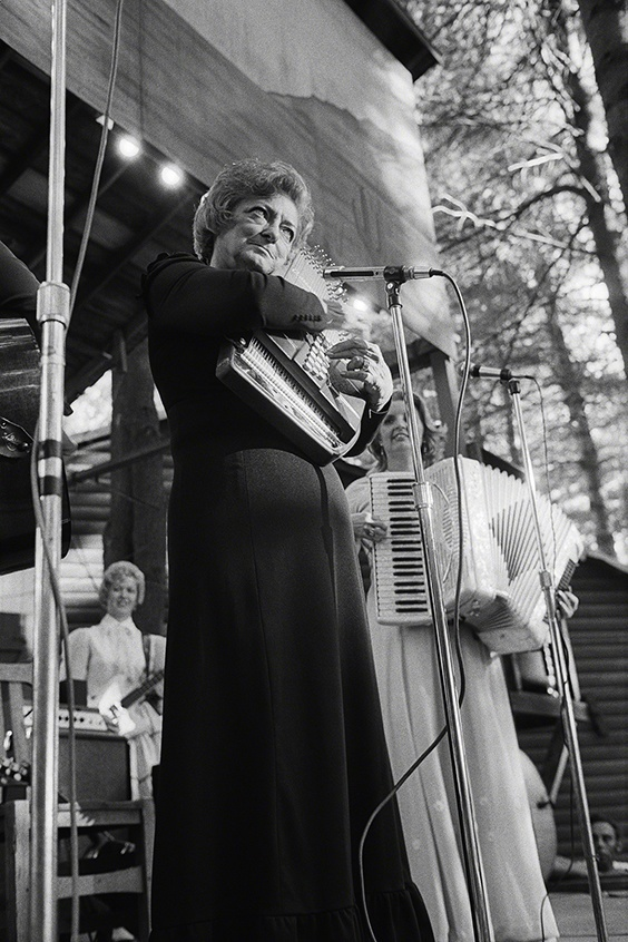 Mother Maybelle Carter, Lonestar Ranch, Reeds Ferry, NH, 1973