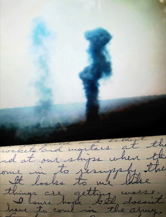 Photo by Jessica Hines for War/Photography exhibit