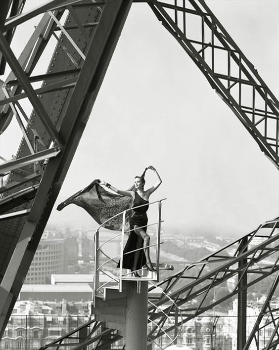 Photo by Mark Arbeit for Helmut Newton exhibit