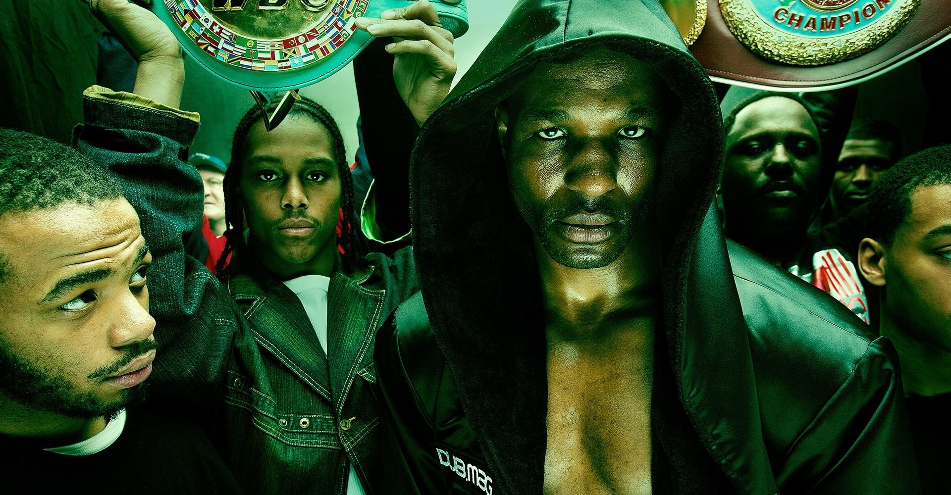 Boxer Bernard Hopkins and posse - Philadelphia, PA