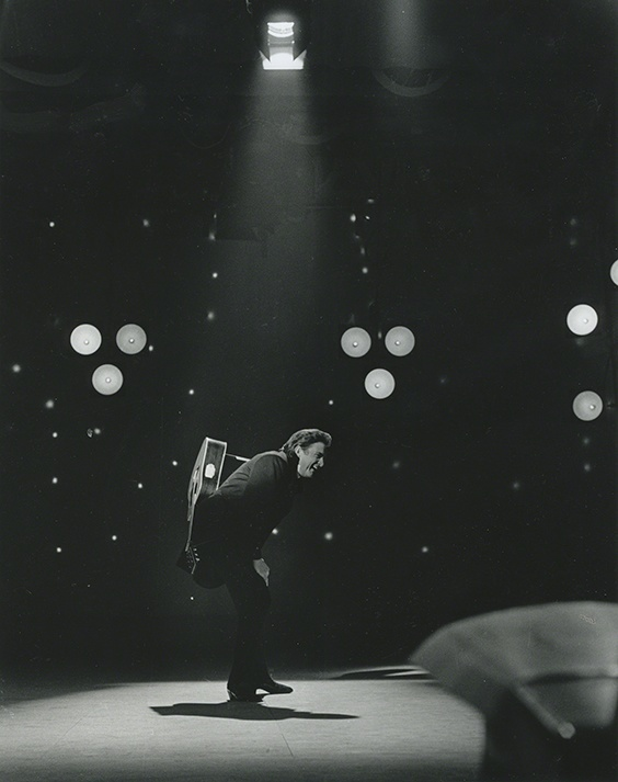 Johnny Cash appears on the Grand Ole Opry, 1971