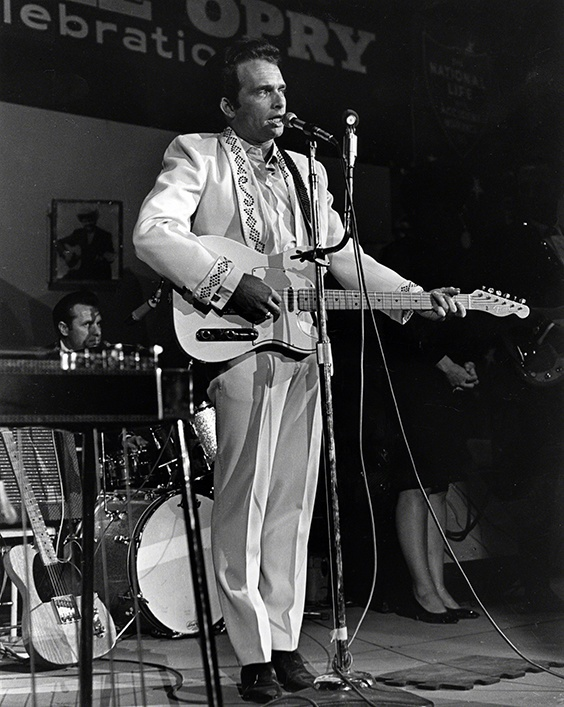 Merle Haggard performing on the Grand Ole Opry, 1967
