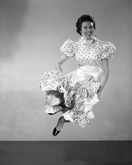 June Carter, Nashville, 1954