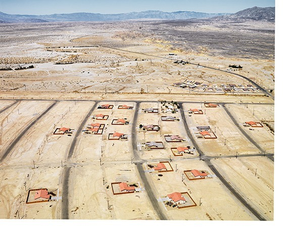 California, USA  Grass is not an option in Salton City, which survives on water imported from the Colorado River. With 20 million more residents expected in California by 2050, the state's quest for water is never ending.
