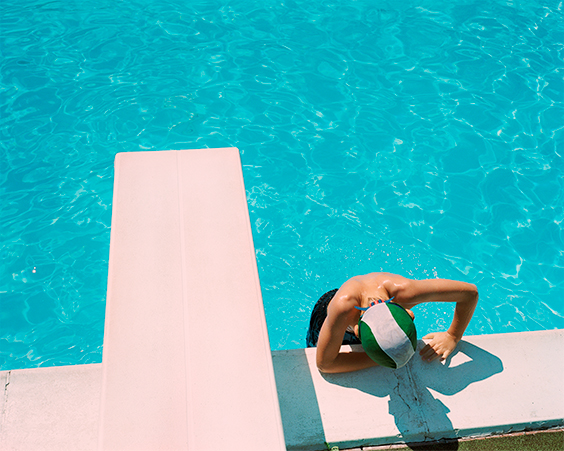 Noah Swimming, Molise, Italy, 2013.