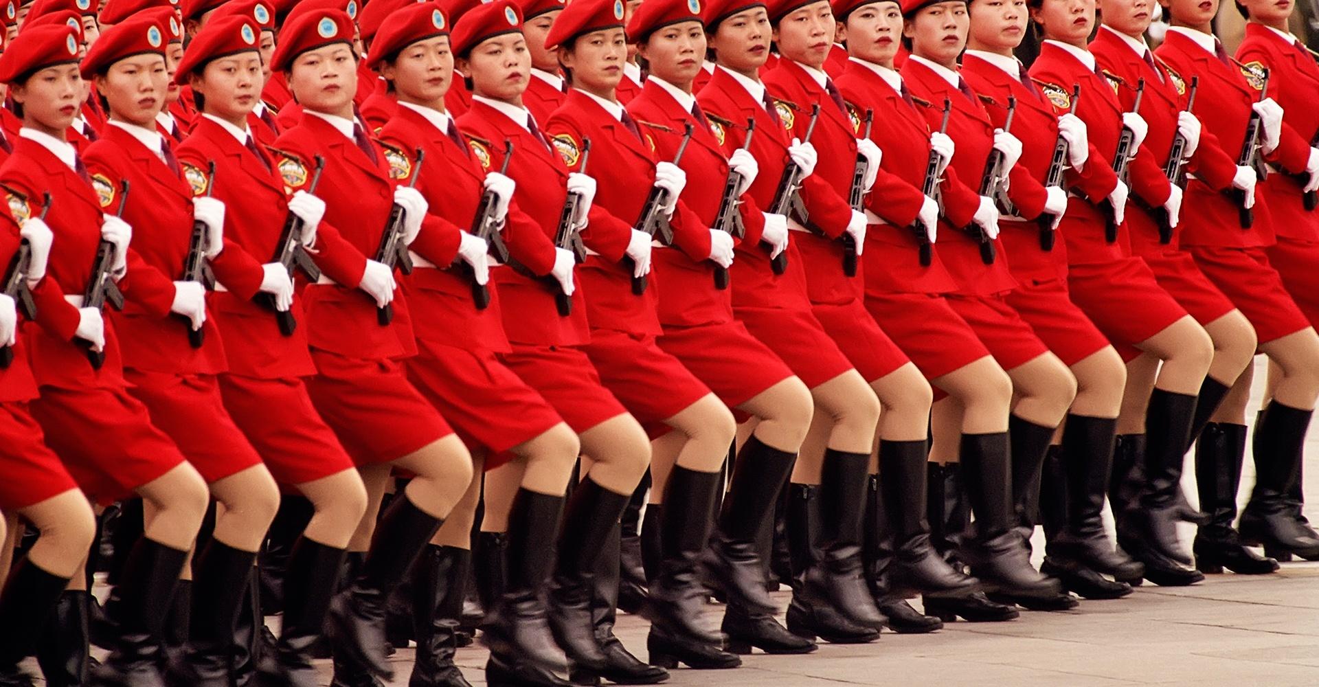PRC Anniversary Red 283 - Beijing, China
