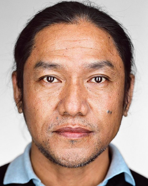 New Americans: Portraits of refugees who have recently resettled in the United States as part of the U.S. Refugee Admissions Program. Bhimal, 42, Bhutan