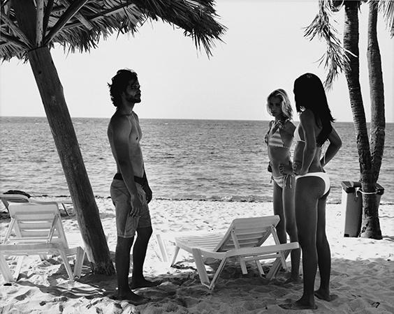 Alejandro Ludmila and Ibis at Club Habana