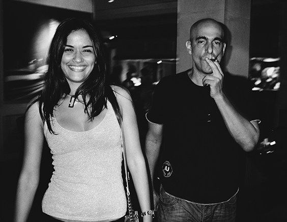 Alejandro Castro (Fidel's son) and girlfriend Roselyn Moreno Pérez, Havana, from the series Habana Libre, 2009
