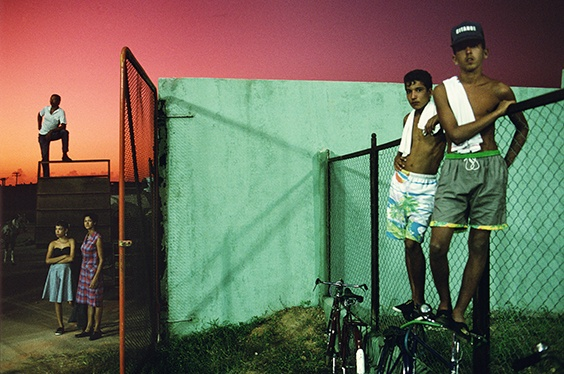 """Sancti Spíritus, 1993,"" from Violet Isle: A Duet of Photographs from Cuba."
