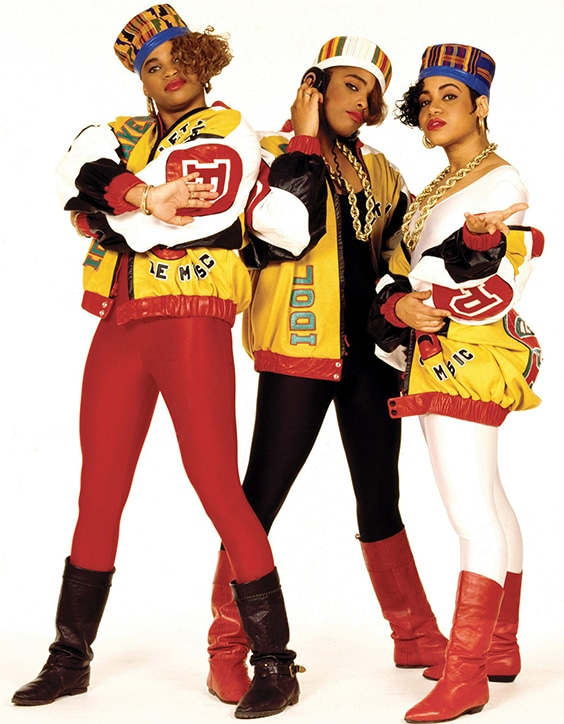 Salt N Pepa, Shake Your Thang,  New York City, 1987
