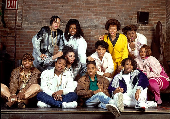 """Ladies of Hip Hop"" Shoot for PAPER Magazine,   Manhattan, 1988"